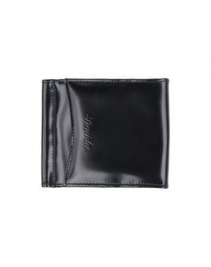 Бумажник PINEIDER. Цвет: черный