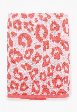 Полотенце Aquarelle. Цвет: коралловый