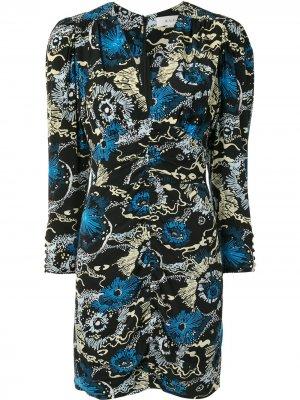 Платье мини с принтом A.L.C.. Цвет: черный