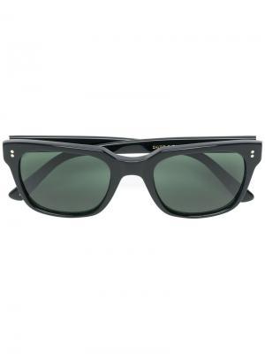 Солнцезащитные очки Zayde Moscot. Цвет: чёрный