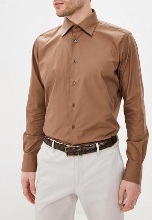 Рубашка Mario Machardi. Цвет: коричневый