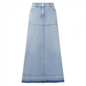 Джинсовая юбка Escada Sport. Цвет: синий