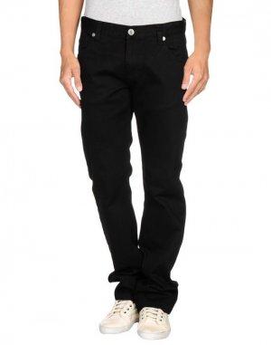 Джинсовые брюки FRANK Q. Цвет: черный
