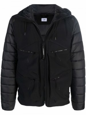 Куртка Shell-R с линзами на капюшоне C.P. Company. Цвет: черный