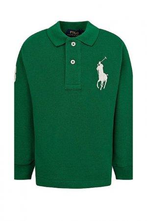 Поло Polo Ralph Lauren. Цвет: athletic green