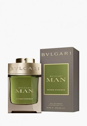 Парфюмерная вода Bvlgari Man Wood Essence, 60 мл. Цвет: прозрачный