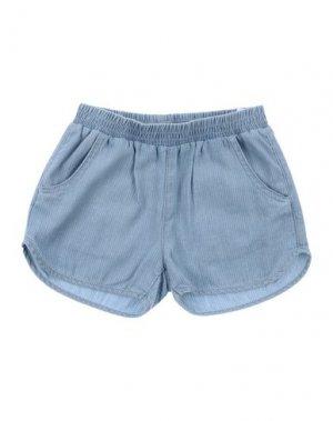 Повседневные шорты LITTLE REMIX. Цвет: небесно-голубой