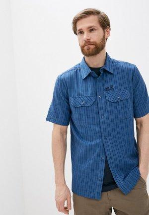 Рубашка Jack Wolfskin THOMPSON SHIRT MEN. Цвет: синий