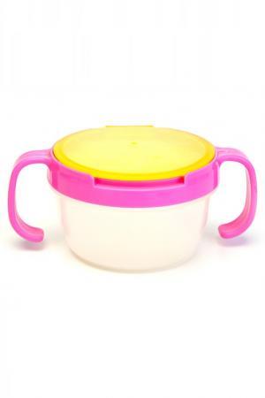 Контейнер для малышей BRADEX. Цвет: розово-желтый