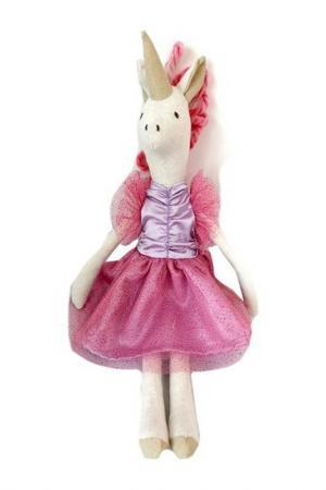 Единорог Тильда ANGEL COLLECTION. Цвет: розовый