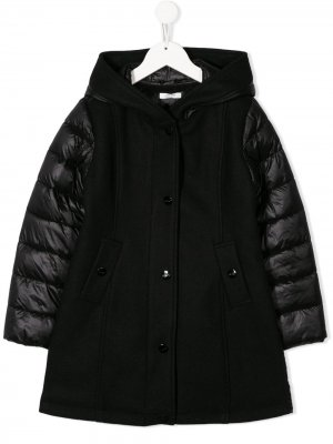 Куртка с контрастными рукавами Liu Jo Kids. Цвет: черный