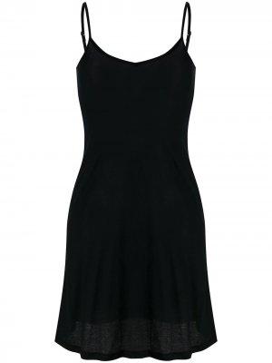 Ночная сорочка Ultralight Hanro. Цвет: черный