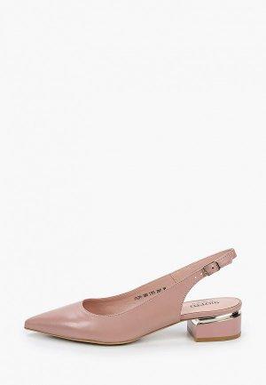 Туфли Giotto. Цвет: розовый