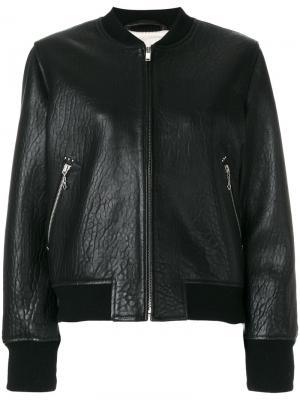 Куртка-бомбер Kanna Isabel Marant Étoile. Цвет: чёрный