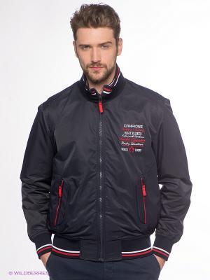 Куртка Claudio Campione. Цвет: темно-синий, красный