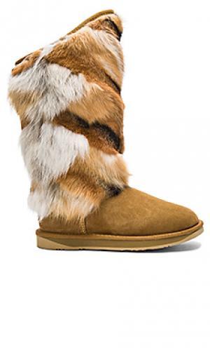Сапоги mongol Australia Luxe Collective. Цвет: коричневый