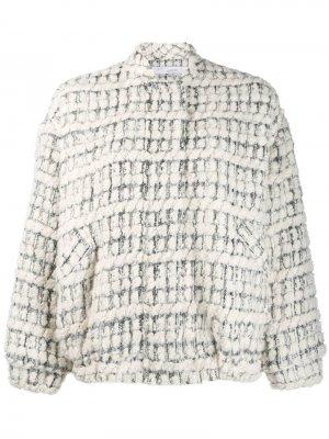Твидовая куртка-бомбер Iro