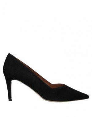 Туфли BRUNO MAGLI. Цвет: черный