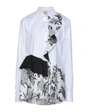 Pубашка ANTONIO MARRAS. Цвет: белый
