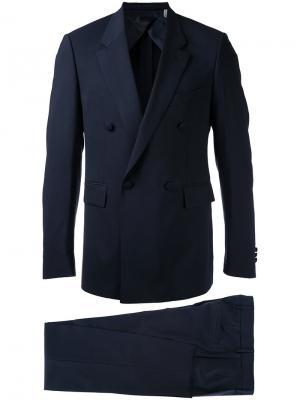 Двубортный костюм Cerruti 1881. Цвет: синий