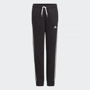 Брюки Essentials 3-Stripes adidas. Цвет: черный