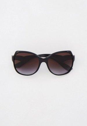 Очки солнцезащитные Dolce&Gabbana DG6154 501/8G. Цвет: черный