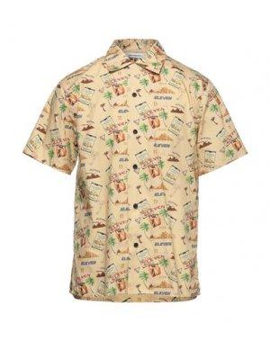 Pубашка ELEVEN PARIS. Цвет: песочный