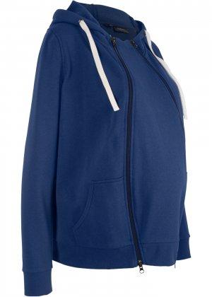Куртка со вставкой для малыша bonprix. Цвет: синий