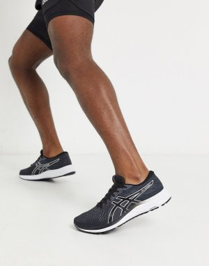 Черные кроссовки Running gel excite-Черный Asics