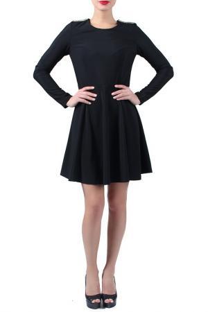 Платье EVA Milano. Цвет: черный