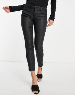 Черные джинсы-капри с покрытием Wonder-Черный Salsa