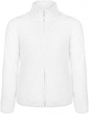 Джемпер флисовый для девочек , размер 104 Outventure. Цвет: белый