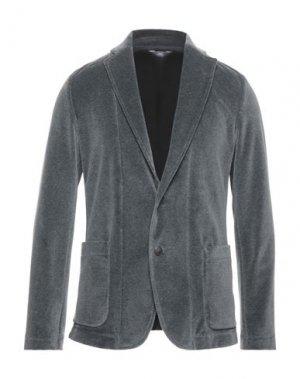 Пиджак FRADI. Цвет: стальной серый