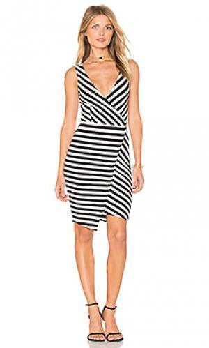 Платье sheldon cupcakes and cashmere. Цвет: black & white
