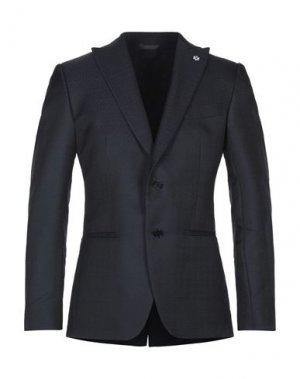 Пиджак UNGARO. Цвет: темно-синий