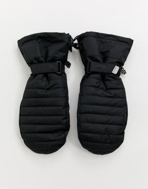 Черные горнолыжные варежки -Черный ASOS 4505