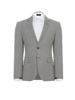 Пиджак  Slim btc. Цвет: серый