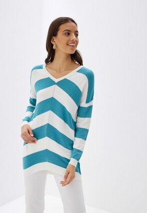 Пуловер Vilatte. Цвет: зеленый
