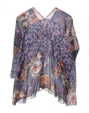 Блузка ANNA SUI. Цвет: темно-фиолетовый