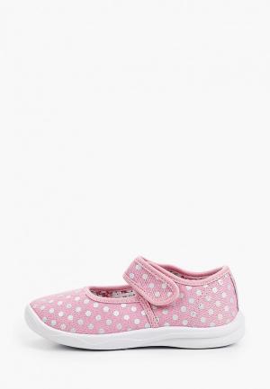 Тапочки Kapika. Цвет: розовый