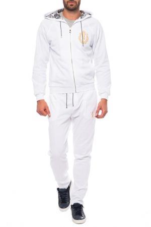 Спортивный костюм Billionaire. Цвет: белый