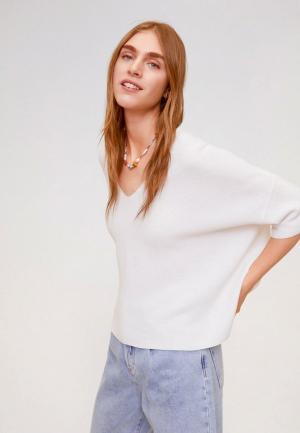 Пуловер Mango - INES. Цвет: белый