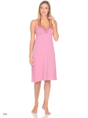 Ночная сорочка Flip. Цвет: бледно-розовый