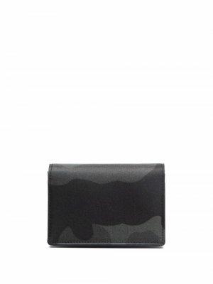 Картхолдер с логотипом Porter-Yoshida & Co.. Цвет: черный
