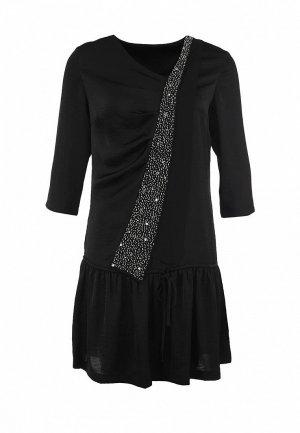 Платье Firetrap FI614EWDR799. Цвет: черный