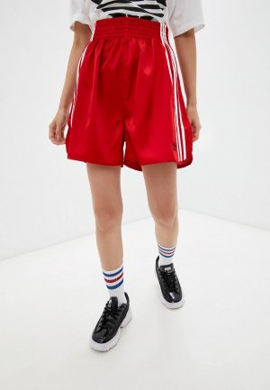Шорты спортивные adidas Originals X DRYCLEANONLY BOXING SHORT. Цвет: красный