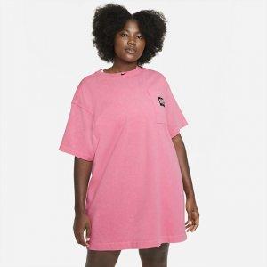 Платье Sportswear (большие размеры) - Розовый Nike