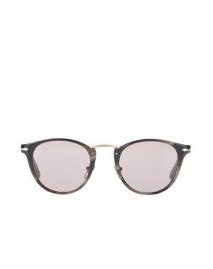 Солнечные очки PERSOL. Цвет: хаки
