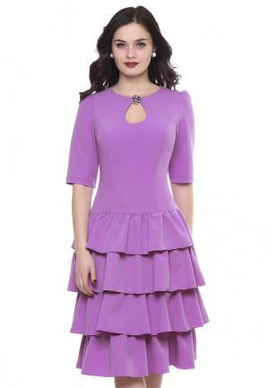 Платье Grey Cat TORINO. Цвет: розовый