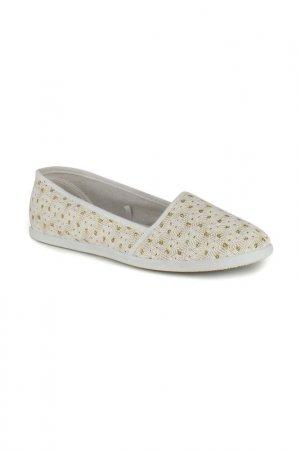 Прогулочная обувь HCS. Цвет: белый, золотой